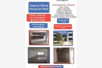 Foto de casa en renta en rincon de los arcos 1, los arcos, irapuato, guanajuato, 1824042 No. 01