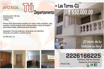 Foto de departamento en venta en  s, las torres, puebla, puebla, 2680556 No. 01