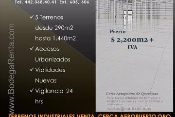 Foto de terreno industrial en venta en  , san isidro, el marqués, querétaro, 2836710 No. 01