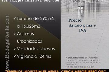 Foto de terreno industrial en venta en  , san isidro miranda, el marqués, querétaro, 2832548 No. 01