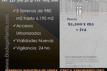 Foto de terreno industrial en venta en  , san isidro miranda, el marqués, querétaro, 2834003 No. 01