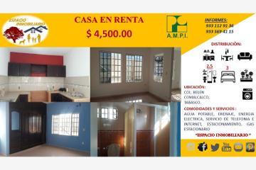 Foto de casa en renta en simón bolívar 0, belén, comalcalco, tabasco, 4656226 No. 01