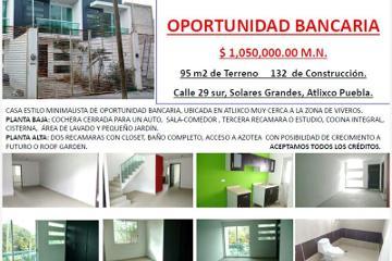 Foto de casa en venta en  #, solares grandes, atlixco, puebla, 2667859 No. 01