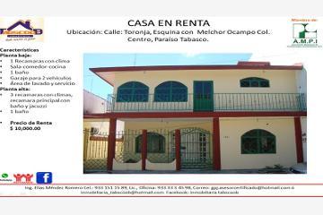 Foto de casa en renta en toronja esquina con melchor ocampo 1311, paraíso centro, paraíso, tabasco, 4654215 No. 01