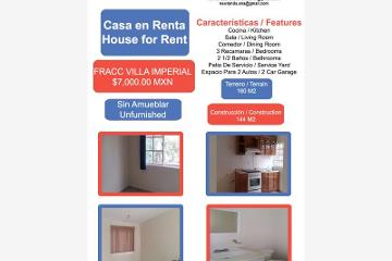 Foto de casa en renta en villa imperial 1, quinta villas, irapuato, guanajuato, 2216848 No. 01