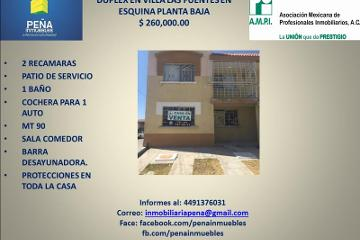 Foto de departamento en venta en  102, villas de las fuentes, aguascalientes, aguascalientes, 2997753 No. 01
