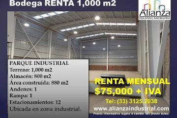 Foto de nave industrial en renta en  , zona industrial, guadalajara, jalisco, 2431353 No. 01