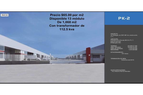 Foto de bodega en renta en 0 0, industrial, querétaro, querétaro, 7479607 No. 01