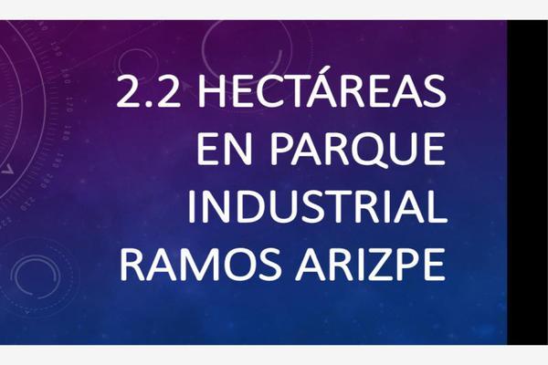 Foto de terreno industrial en venta en 0 0, ramos arizpe centro, ramos arizpe, coahuila de zaragoza, 20245607 No. 01