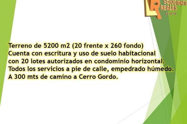 Foto de terreno habitacional en venta en sin nombre 0, cerro gordo, san juan del río, querétaro, 2667744 No. 01