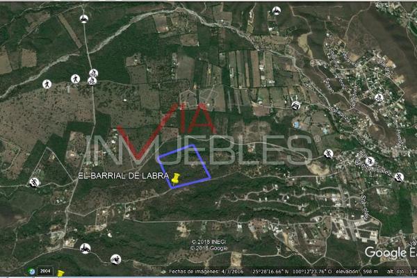 Foto de terreno industrial en venta en 00 00, el barrial, santiago, nuevo león, 0 No. 04