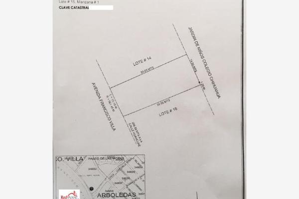 Foto de terreno comercial en venta en francisco villa 001, arboledas i, chihuahua, chihuahua, 3149580 No. 04