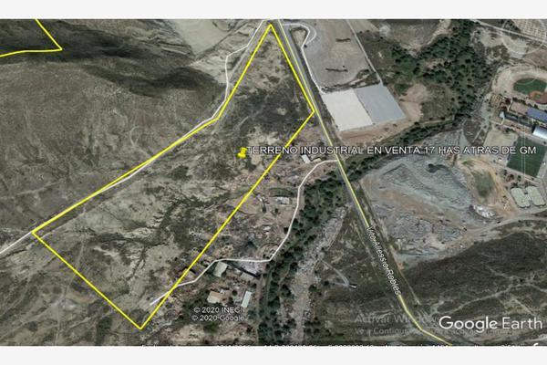 Foto de terreno industrial en venta en 1 1, ramos arizpe centro, ramos arizpe, coahuila de zaragoza, 18535091 No. 01
