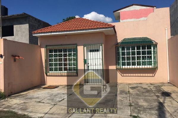 Foto de casa en venta en 1 , carlos a madrazo, centro, tabasco, 5694122 No. 01