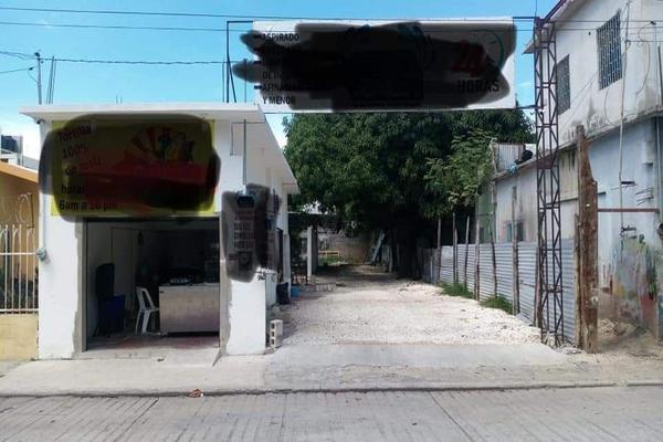 Foto de terreno habitacional en venta en  , 1 de mayo (playón), carmen, campeche, 8731939 No. 01