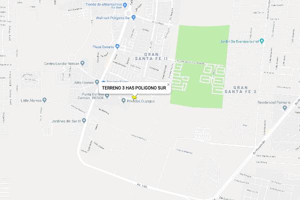 Foto de terreno habitacional en venta en 1 , jardines del sur, benito juárez, quintana roo, 4646665 No. 02