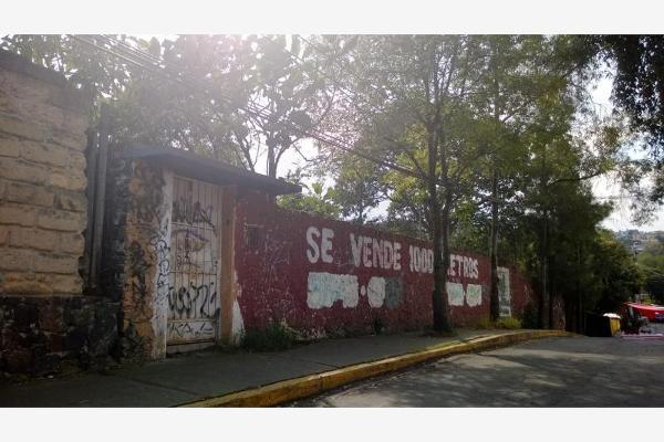 Foto de terreno habitacional en venta en corregidora 1, miguel hidalgo 3a sección, tlalpan, distrito federal, 2713630 No. 01