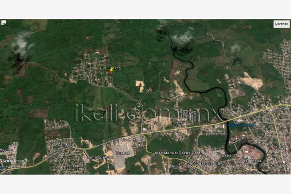 Foto de terreno habitacional en venta en 10 de mayo , cruz naranjos, tuxpan, veracruz de ignacio de la llave, 5917445 No. 01