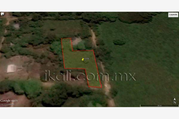 Foto de terreno habitacional en venta en 10 de mayo , cruz naranjos, tuxpan, veracruz de ignacio de la llave, 5917445 No. 02