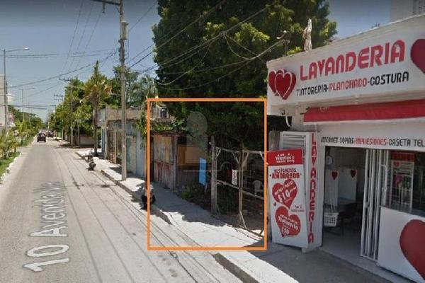 Foto de terreno habitacional en venta en 10 , playa del carmen centro, solidaridad, quintana roo, 5893495 No. 01