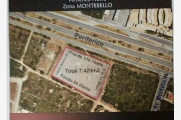 Foto de terreno habitacional en venta en 11 304, montebello, mérida, yucatán, 5672001 No. 01