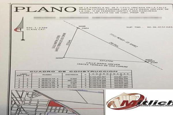 Foto de terreno habitacional en venta en  , 11 de febrero, chihuahua, chihuahua, 7907868 No. 04