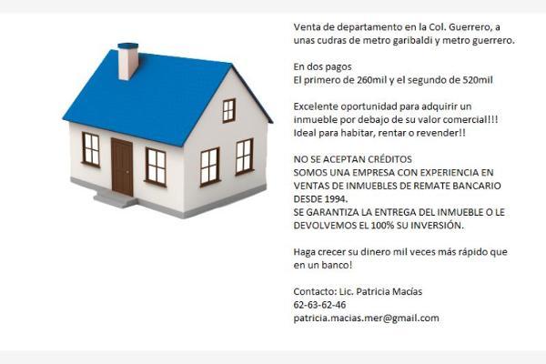 Foto de departamento en venta en galeana 110, guerrero, cuauhtémoc, distrito federal, 2713292 No. 02