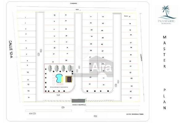 Foto de terreno habitacional en venta en 12 b , santa gertrudis copo, mérida, yucatán, 19294983 No. 03