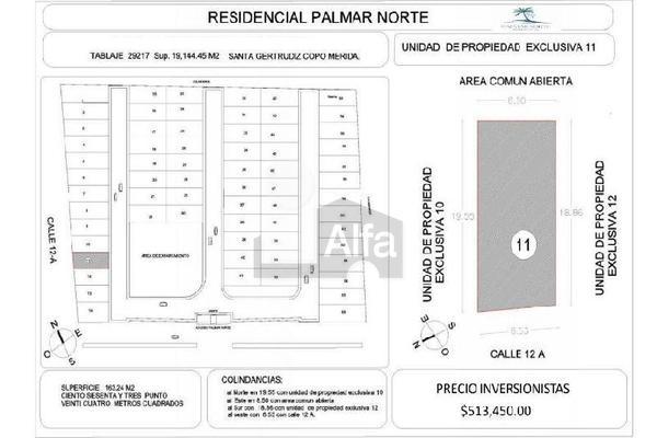 Foto de terreno habitacional en venta en 12 b , santa gertrudis copo, mérida, yucatán, 19294983 No. 04