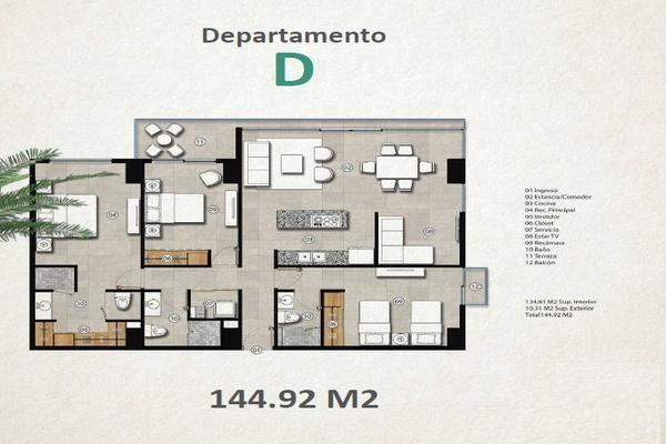Foto de departamento en venta en 125 entre ctm y constituyentes , nuevo centro urbano, solidaridad, quintana roo, 7281892 No. 05