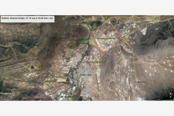 Foto de terreno industrial en venta en del parque 1250, parque industrial, ramos arizpe, coahuila de zaragoza, 3061756 No. 01