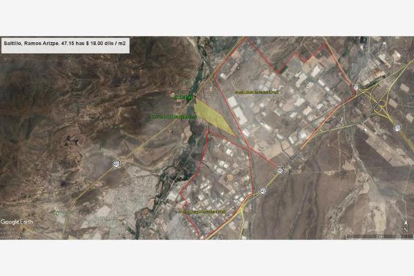 Foto de terreno industrial en venta en del parque 1250, parque industrial, ramos arizpe, coahuila de zaragoza, 3061756 No. 02