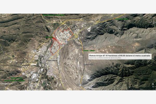 Foto de terreno industrial en venta en del parque 1250, parque industrial, ramos arizpe, coahuila de zaragoza, 3061756 No. 06