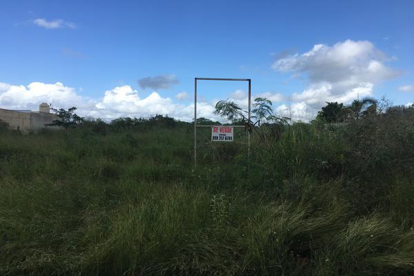 Foto de terreno industrial en venta en 13 118, cholul, mérida, yucatán, 10002968 No. 01