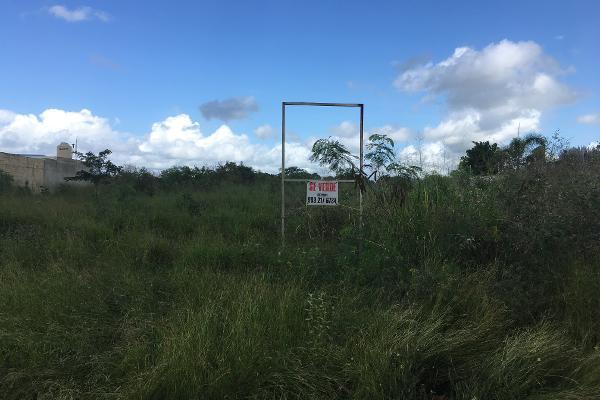 Foto de terreno industrial en venta en 13 79, cholul, mérida, yucatán, 10002968 No. 01