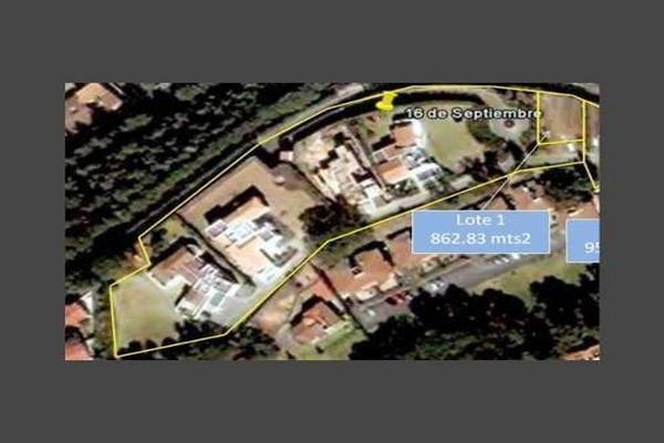 Foto de terreno habitacional en venta en 16 de septiembre , el ébano, cuajimalpa de morelos, df / cdmx, 14071547 No. 05