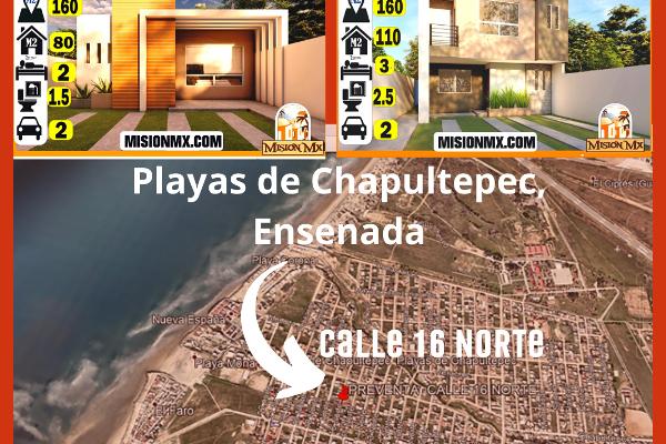 Foto de casa en venta en 16 norte , playas de chapultepec, ensenada, baja california, 14026834 No. 02
