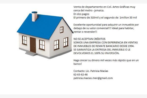 Foto de departamento en venta en cerrada de canario 18, artes graficas, venustiano carranza, distrito federal, 2708857 No. 02