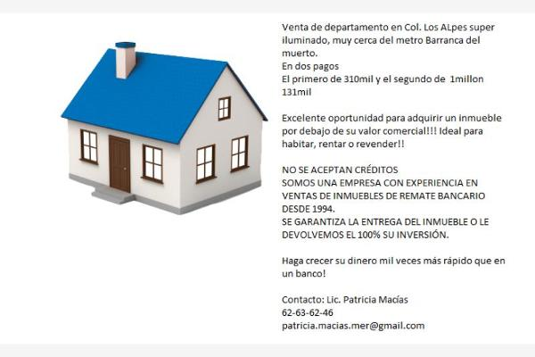 Foto de departamento en venta en adolfo lópez mateos 1969, los alpes, álvaro obregón, distrito federal, 2666691 No. 02