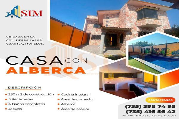 Foto de casa en renta en 2 de abril , tierra larga, cuautla, morelos, 6191338 No. 01
