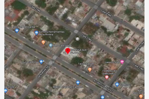 Foto de terreno habitacional en venta en 2 norte esquina con 60 avenida 1, playa del carmen centro, solidaridad, quintana roo, 8861279 No. 01