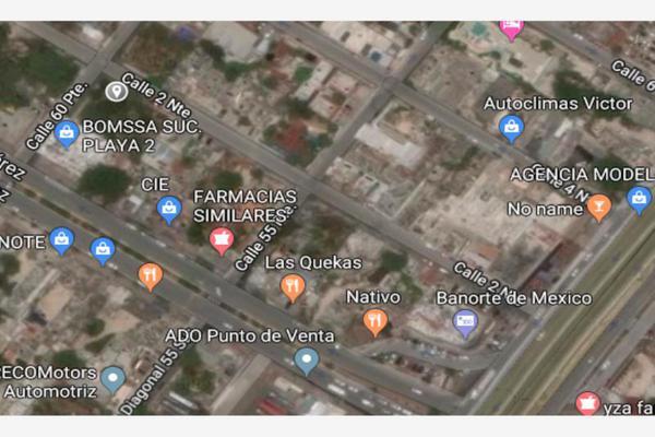 Foto de terreno habitacional en venta en 2 norte esquina con 60 avenida 1, playa del carmen centro, solidaridad, quintana roo, 8861279 No. 02