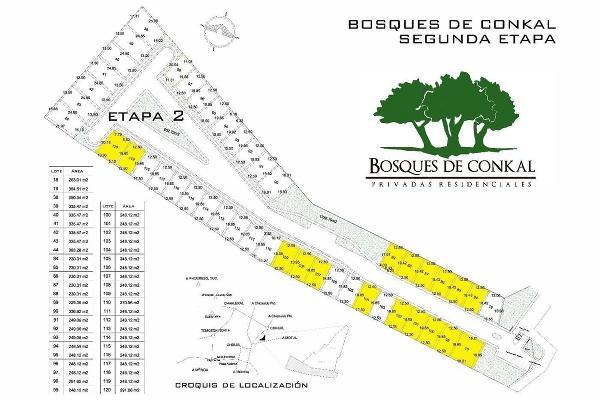 Foto de terreno habitacional en venta en 21 , conkal, conkal, yucatán, 5307853 No. 02