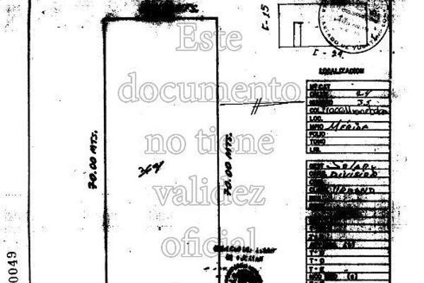 Foto de terreno habitacional en venta en 24 , misnebalam, progreso, yucatán, 14027966 No. 02