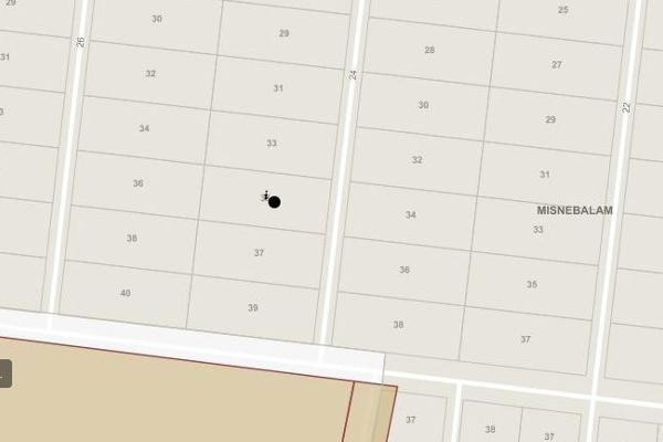 Foto de terreno habitacional en venta en 24 , misnebalam, progreso, yucatán, 14027966 No. 03