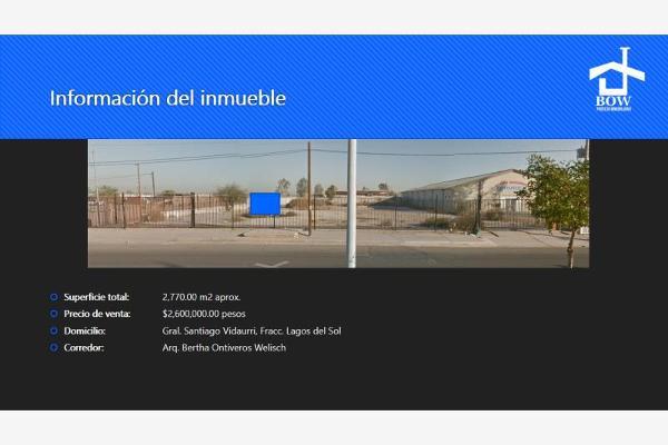 Foto de terreno comercial en venta en santiago vidaurri 259, los naranjos, mexicali, baja california, 2693680 No. 05