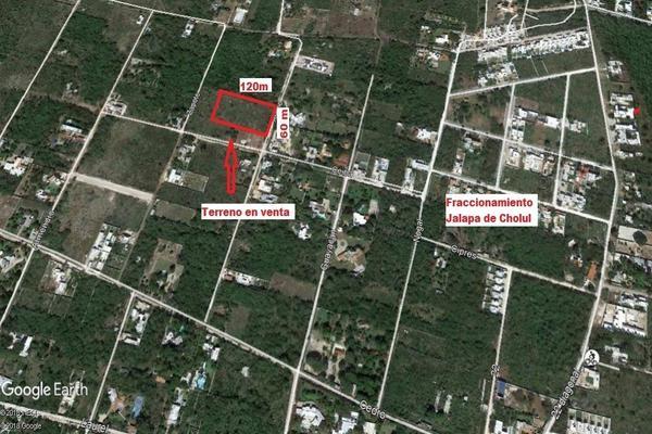 Foto de terreno habitacional en venta en 28 , cholul, mérida, yucatán, 5857103 No. 02