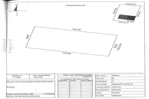 Foto de terreno habitacional en venta en 28 , cholul, mérida, yucatán, 5857103 No. 04