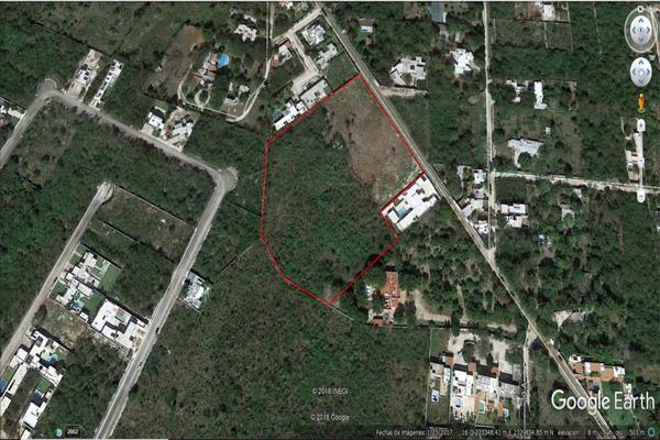 Foto de terreno habitacional en venta en 28 diagonal , cholul, mérida, yucatán, 9254945 No. 02
