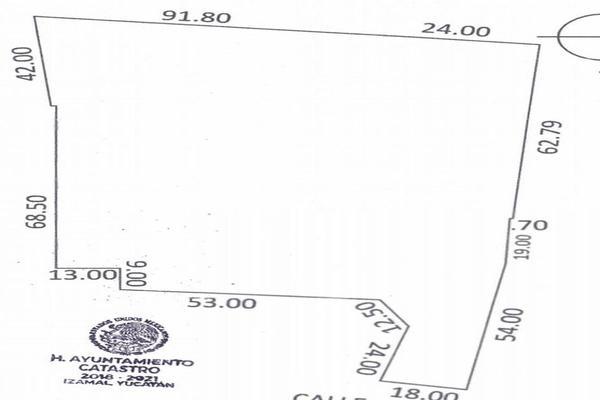 Foto de terreno habitacional en venta en 37 , izamal, izamal, yucatán, 19730539 No. 06
